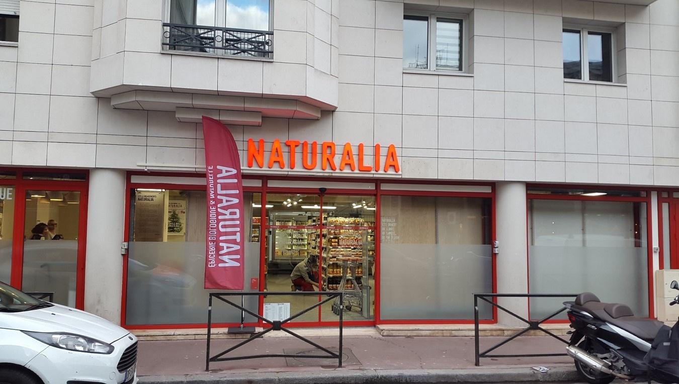Magasin Naturalia - LEVALLOIS VERGNIAUD: France, Levallois-Perret